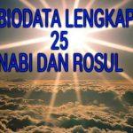 25 nabi dan rosul